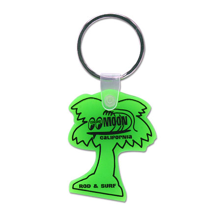 ムーン Palm Tree Key Ring