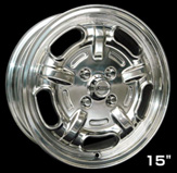 Speed Master Wheel 15×6 5H(ポリッシュ)